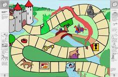 zelf een ridderspel ontwerpen (~ eerder bij het thema sprookjes): welke dappere ridder kan het eerst de gouden onderbroek bemachtigen? Castle Classroom, Chateau Moyen Age, Castle Project, Dragon King, Medieval Times, Nursery Rhymes, Middle Ages, Dungeons And Dragons, Rapunzel
