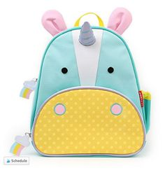 70649fa5a32c Our TOP 10 Toddler Backpacks - Skip hop unicorn backpack