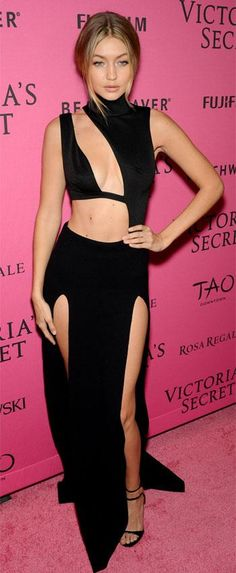 The models from the Victoria's Secret Fashion Show including Kendall Jenner, Gigi Hadid and Behati Prinsloo, all attended the 2015 after party. Gigi Hadid Victoria Secret, Victoria Secret Fashion Show, Kendall Jenner, Style Gigi Hadid, Fashion Shows 2015, Trendy Fashion, Fashion Women, Women's Fashion, Fashion Ideas