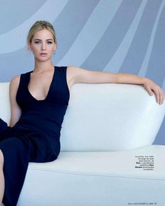"""""""Divine Treasure"""" Jennifer Lawrence for Marie Claire Spain January 2016"""
