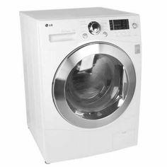 dryer combo lg 2 3 cu ft ventless washer dryer combo model wm3455hw be ...