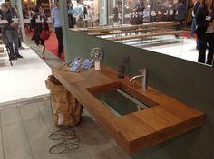 LAGO @ This is my Listone Giordano and partners Hall 7 Booth C1 D10   #lago #design #wildwood #depth #lagointerior #bathroom