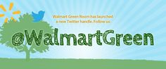 Are you on Twitter? Follow us @WalmartGreen and join the #Sustainability conversation!