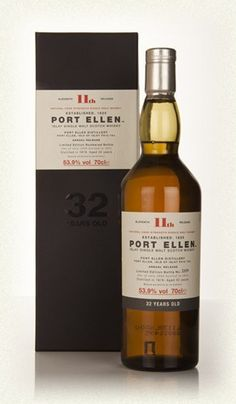 Port Ellen 32 YO 1979 (11th Release)  £696.18 Nose: Honeycomb and chocolate raisins, coconut, damson jam, quince cheese, grapes and very soft smoke. Not one of the most peaty Port Ellens so far. Palate: Blackberries, guava, and also something which I probably shouldn't put (let's just say it's not unlike the flavour of tomato skins in a greenhouse). India rubbers, pepper, dry oak, under-ripe apples, pear skins and mango. Finish: Quite smoky now with coal, maple syrup, corn soot and rum spice...