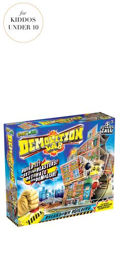 Gifts For Kids Under 10 | SmartLab® Demolition Lab: Breakdown Building | Very Merry Gift Guide
