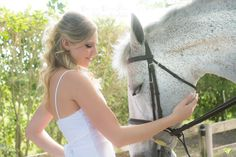 So ethereal! I love the expression on their faces. Model is Desiree. Equestrian Talent: Cyrus. I photographed this in Wellington, FL at the Equestrian Club.