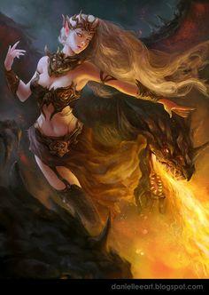 Magic and dragons.