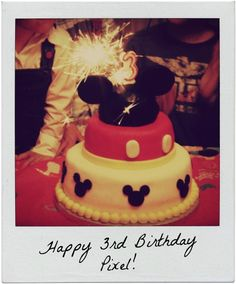 HEARTCORE: Mickey Mouse Cake