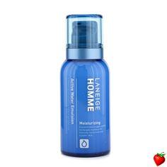 Laneige Homme Active Water Emulsion 125ml/4.2oz #Laneige #MensSkinCare #Men #FREEShipping #StrawberryNET