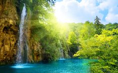 3D Wallpaper Widescreen Waterfalls Hd Desktop 10 HD Wallpapers