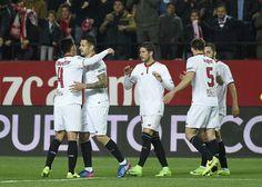 @Sevilla Victoria en el Sánchez-Pizjuán ante el Eibar #SFC #SevillaFC #9ine