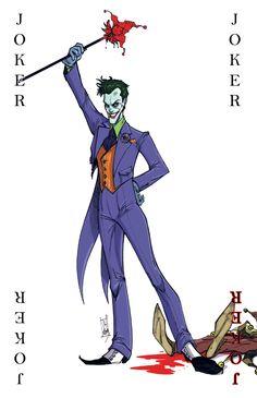 Joker Card by Hodges-Art.deviantart.com on @deviantART