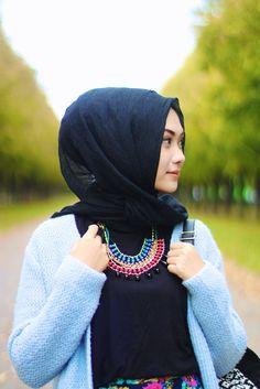 """Indah """"Geulis"""" Nada Puspita #Hijab #Hijaber"""