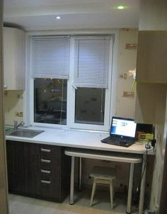 Ремонт своими руками и дизайн угловой кухни 5,5 кв.м (18 фото)