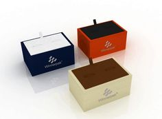 Cufflink box by leatherette paper wrapping. Paper Wrapping, Jewelry Case, Tree Branches, Art Pieces, Cufflinks, Wraps, Presents, Packaging, Box