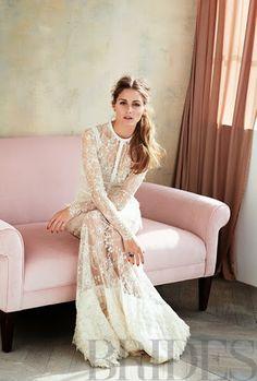 Olivia Palermo - Brides Magazine