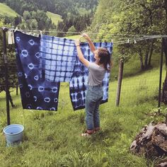 It worked so well  Shibori dying - Follow me on Pinterest: Lisa Zinnebner Shibori, Lisa, Photo And Video, Videos, Instagram, Video Clip