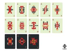 ahh i always dream to make a playing card and a type artwork. This just combined both!! AWESOME job!