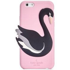 kate spade new york Silicone Swan iPhone 6/6S Case