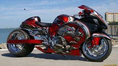 Hayabusa Turbo 500BHP, An amazing Bike and the awesome artwork too!