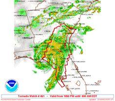 SPC Tornado Watch 461 - http://blog.clairepeetz.com/spc-tornado-watch-461/