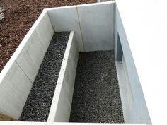 Lichtgraben Beton