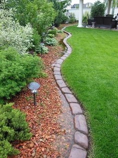 Curbing installed by Element Curbing Concrete garden edging Diy Garden, Garden, Deck Garden, Landscape Curbing, Backyard Garden, Outdoor Gardens, Garden Beds, Concrete Garden Edging, Garden Edging