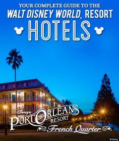 Complete Guide to the Walt Disney World Resort hotels: Disney's Port Orleans Resort - French Quarter