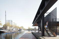 Civic Architects · Piushaven Harbour Pavilion