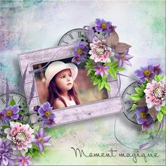 Il etait une fois Floral Wreath, Scrap, Wreaths, In This Moment, Frame, Home Decor, Once Upon A Time, Picture Frame, Floral Crown