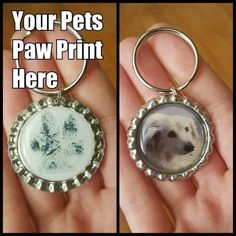 Hey, I found this really awesome Etsy listing at https://www.etsy.com/listing/242896975/pet-memorial-keychain-paw-print-wfree