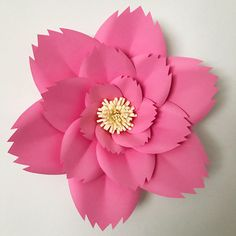 A personal favorite from my Etsy shop https://www.etsy.com/listing/508329390/pdf-petal-46-paper-flower-template-with