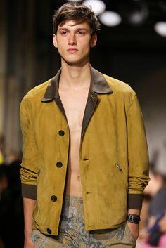 Hermès Spring 2015 Menswear Fashion Show Details