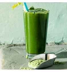 Puhdistava vihermehu Shot Glass, Smoothies, Brunch, Food And Drink, Vegetables, Drinks, Breakfast, Healthy, Tableware