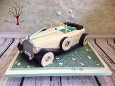 Classic Car - Cake by Blossom Dream Cakes - Angela Morris