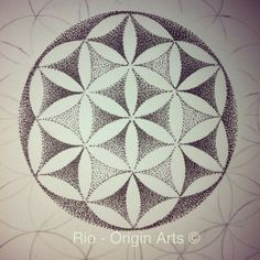 Best Geometric Tattoo - Flower of life smaller than usual love these patterns again all dotwork... Check more at http://tattooviral.com/tattoo-designs/geometric-designs/geometric-tattoo-flower-of-life-smaller-than-usual-love-these-patterns-again-all-dotwork/