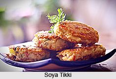 Soya Tikki is a popular Indian snack item relished almost all over the country. This mouth-watering snack is rich in protein and fibre. For the recipe visit the page. #recipes #vegetarian #indianfood