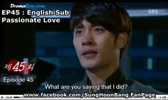 "Photo from #SBS #Kdrama Passionate Love #SungHoon @bbangsh83 #성훈 #PassionateLove #열애 #SBS #KDrama Credit : Thank you "" TVReport "" FACEBOOK : www.facebook.com/SungHoonBang.FanPage"