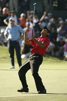 Nothing Like A Tiger Wood's Fist Pump