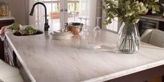 Corian® Witch Hazel love the counter top