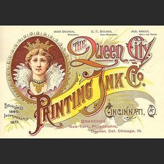 https://flic.kr/p/odBkYX | Take a sec and soak this one up.  I'm a big fan of Queen City Printing.  This is yet another fantastic portfolio piece they crafted.  #typehunter #typehunting #badgehunting #vintageadvertising #ohioquality