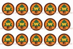 INSTANT DOWNLOAD...Up Wilderness Badge Inspired... 1 Inch Circle Image Collage for Bottle Caps...Buy 3 get 1 by VampCandyDesigns on Etsy https://www.etsy.com/listing/151089962/instant-downloadup-wilderness-badge