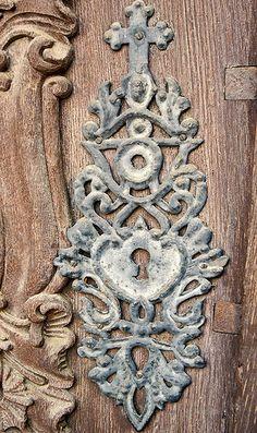 Baroque door detail
