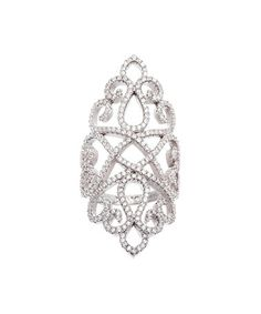 Look what I found on #zulily! Cubic Zirconia & White Star-Filigree Ring by Bliss #zulilyfinds