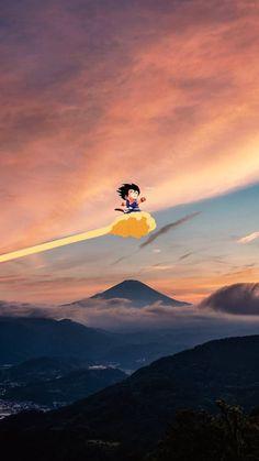 Interesting Wallpapers, Goku Wallpaper, Kid Goku, Wallpaper Naruto Shippuden, Insta Photo Ideas, Animes Wallpapers, Aesthetic Iphone Wallpaper, Sword Art, Dragon Ball Z