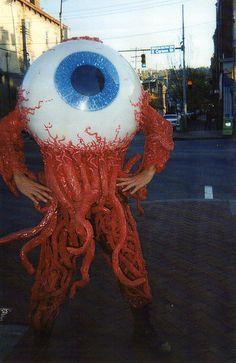 El mejor disfraz que he visto últimamente para Halloween