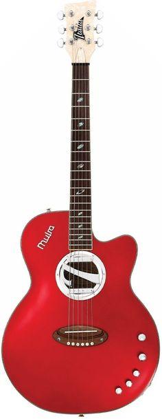 Italia Muira Acoustic Electric Guitar --- https://www.pinterest.com/lardyfatboy/