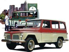 Sessão nostalgia - Pick-up Ford Jeep F 75