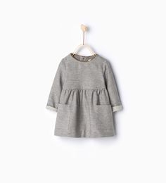 Dress with piped neckline - Baby girl | new size 3 - 4 years - NEW IN | ZARA United Kingdom