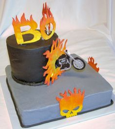 Harley Davidson motorcycle cake    I'd like to suggest my personal website about gift ideas and tips. The site is http://ideiadepresente.com  You're welcome to visiting my website!    [BR]  Eu gostaria de sugerir meu site pessoal de dicas de presentes, o site � http://ideiadepresente.com